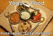 Yogic Food / A Yogic Food Journey is a unique collection of healthy recipes, based on three yogic diets, with a vast choice of delicious main dishes, salads and desserts.