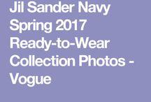 Jil sander navy 2017