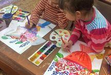 мастерская юных художников