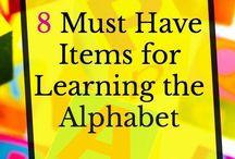 Kids - Alphabet Activities / Free printables and countless hands-on, creative alphabet activities for preschool and kindergarten. Sight word practice, phonics and simple abcs.