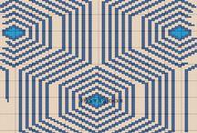 W13-bølger med dråbehul / Wayuu