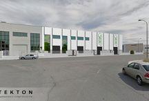 Serigrafía Vinilo, S.L. / Serigrafía Vinilo, S.L. ha depositado su confianza en Tekton, S.L. para la construcción de su nuevo centro en Getafe. La nave constara de aproximadamente 2.000 m2. www.tekton.es