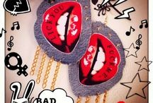 ▼△Dolled Up△▼ / HAND MADE ACCESSORIES By Dolled Up Earrings  Pin badge  DIY Hand made Myself Accessories  Girls Fashion Swag
