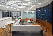 Collaborative Office Space / Great spaces inspire great work, and collaboration is key in today's work environment. These beautiful offices encourage collaboration and creativity.