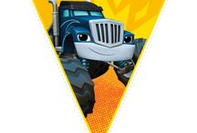 monster truck vlagies