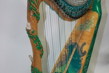 arpa harp harfe / iconografia dell'arpa