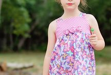 sewing patterns - girls clothes