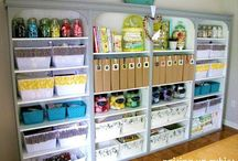 Craft room / Craft room on a budget / by Taryn Meek