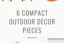 Small Outdoor Spaces Accessories