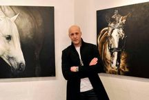 About Me / Award-Winning Professional Fine Artist Tony O Connor specialising in equines www.whitetreestudio.ie www.white-tree-studio-online-store.myshopify.com