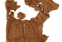Fabrics, textiles, embroidery (archaeology)