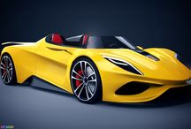 roadster design / by terry bartels