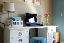 Home Desk Ideas / by Lydia Parker