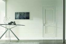 White Modern Door / Modern doors by Oikos Venezia in white.