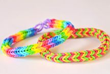 Rainbow Loom Ideas - save for girls / by Robin Lucas