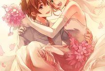 Syaoran and Sakura ♥