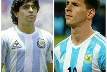 Maradona & Messi