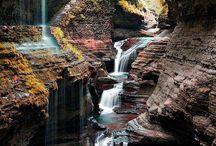 Nature - waterfalls