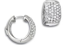 Pavé Fashion Jewelry by ELLE Jewelry / Affordable silver micro pavé fashion jewelry