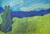 nápady pro děti - inspirace známými umělci