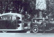 Véhicules historiques / Les plus anciens véhicules de loisirs en quelques images!