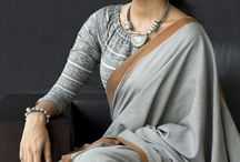 saree with blouse