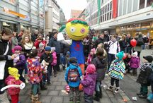 ToonWalk 2014 / The ToonWalk turns the Nuremberg city center into ToyCity. Be a part of it! / by Spielwarenmesse