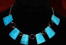 Statement Necklaces by N A Waterman / Handmade jewelry created by N A Waterman