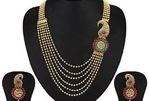 Bollywood Traditional Wedding Party Strand Jewelry