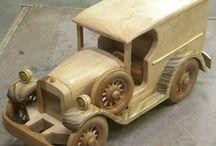 tahta araba