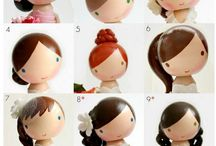CRAFTS peg dolls