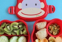 Healthy lunch/snack ideas for kids.