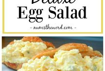 egg salads and eggs