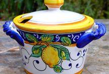 Our Limone Alacantara Italian Ceramics we import