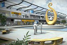 Luxe Mall / Le premier centre commercial en 3D dédié  au luxe...