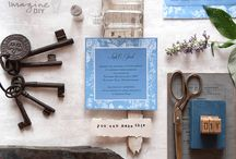 Blue Wedding ideas / Find wedding ideas for a blue themed wedding.