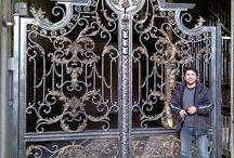 puertas forjadas