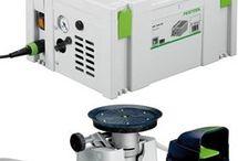 Festool Vacuum pump and clamping unit