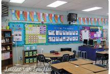 Fourth grade classroom set up