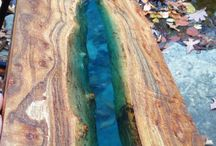 resin river tables
