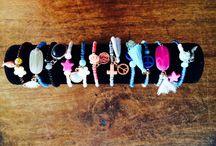 made by rabby / zelf gemaakte armbandjes ibiza style