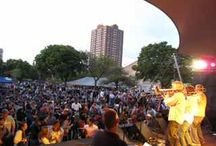 Jazz in the Park / East Town presents a free concert series each Thursday during the summer. Featuring the best in local, regional and national talent at Cathedral Square (downtown Milwaukee). For the full line up of events go to http://www.easttown.com/events/jazz-in-the-park.
