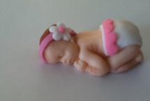 Bebé de fondant