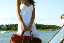 Italian Leather Travel Bags / Having an Italian leather travel bag means not only will you be the most stylish individual in the airport, you will also be able to recognize your bag right away!