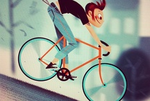 Cycle illustrations / Bicycle illustrations