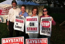 Nurses' Strike - PDA Western MA Solidarity MNA