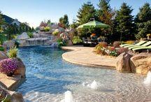 Porches y piscinas