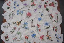 Vintage Embroidered Swatches