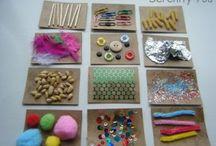 crafts for my grandkids. / by Tina Wolken
