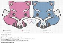 Cute Cross Stitch Patterns / by Kandra Posey Young